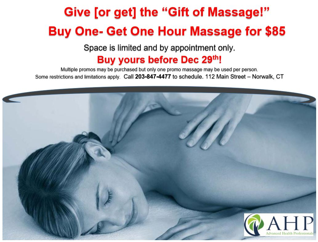 Current Massage Promotion